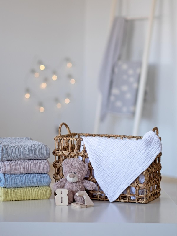 White Baby Blanket - Cocoon Collection