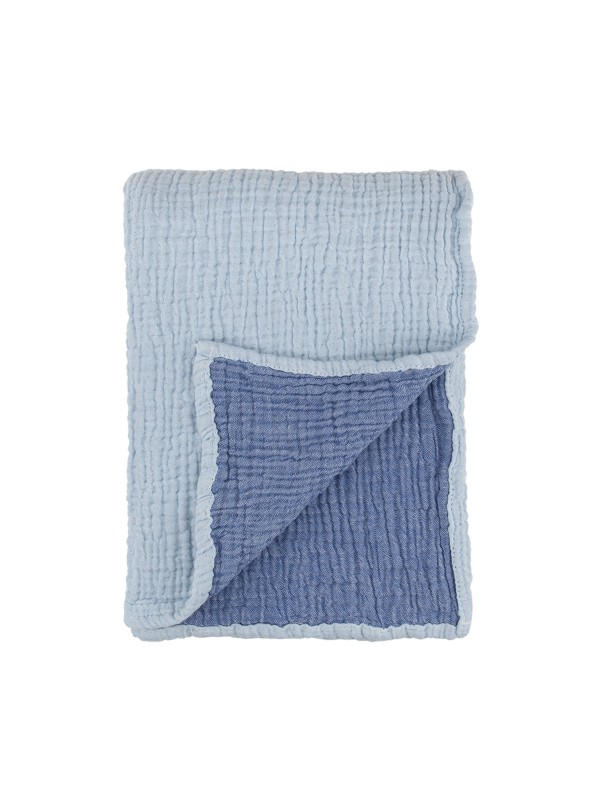 Blue Baby Blanket - Cocoon Collection