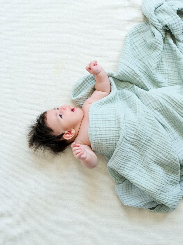 Sage Baby Blanket - Cocoon Collection