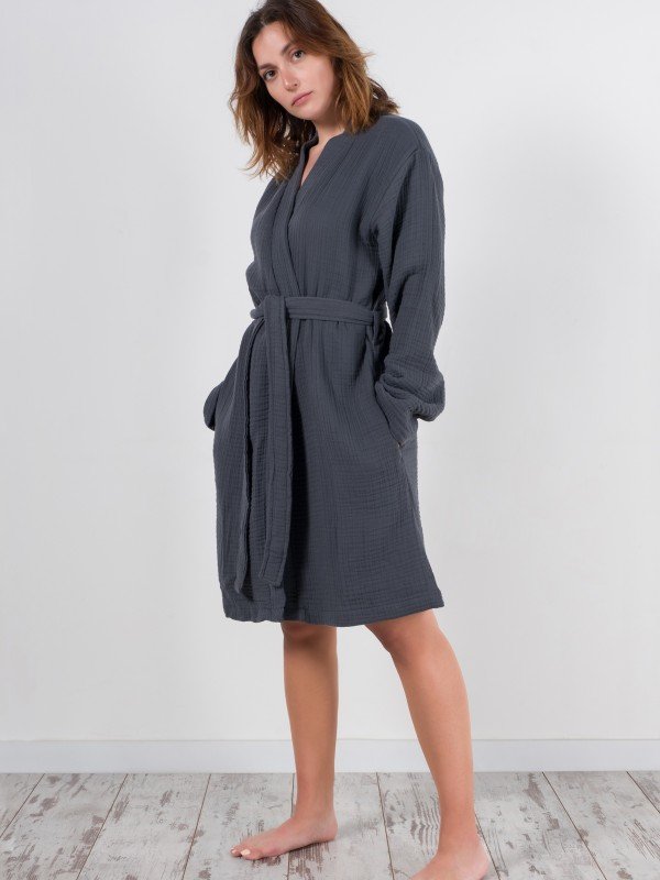 Antracite Robe - Cocoon Collection