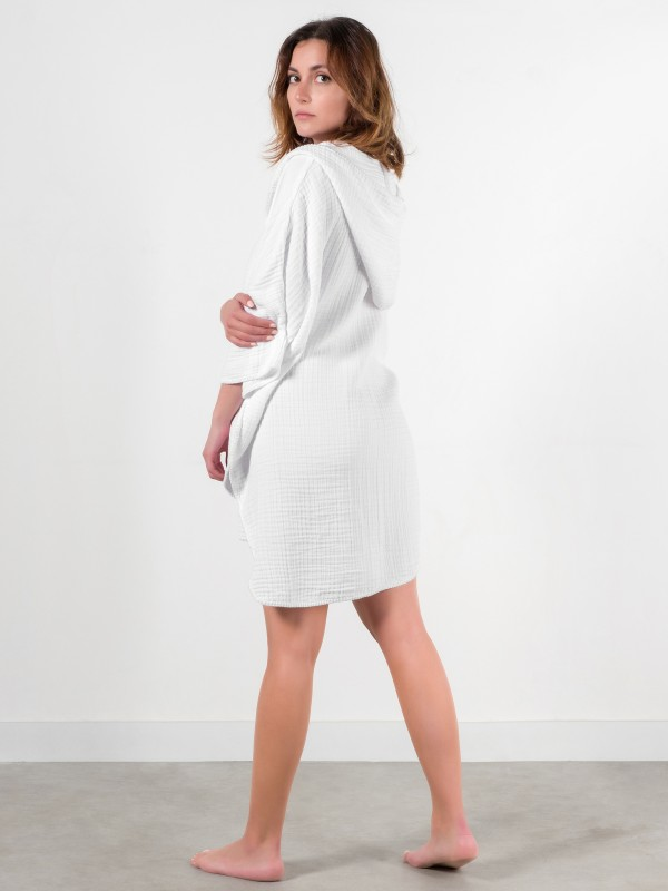 Cocoon Adult Poncho - White