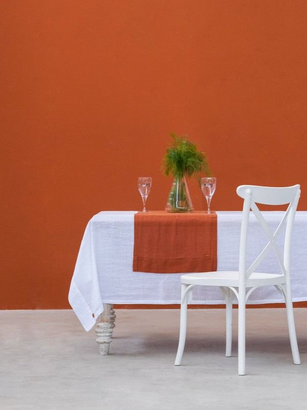 White Tablecloth - Linen Collection