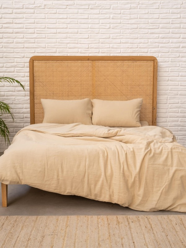 Beige Duvet Cover - Serenity Collection
