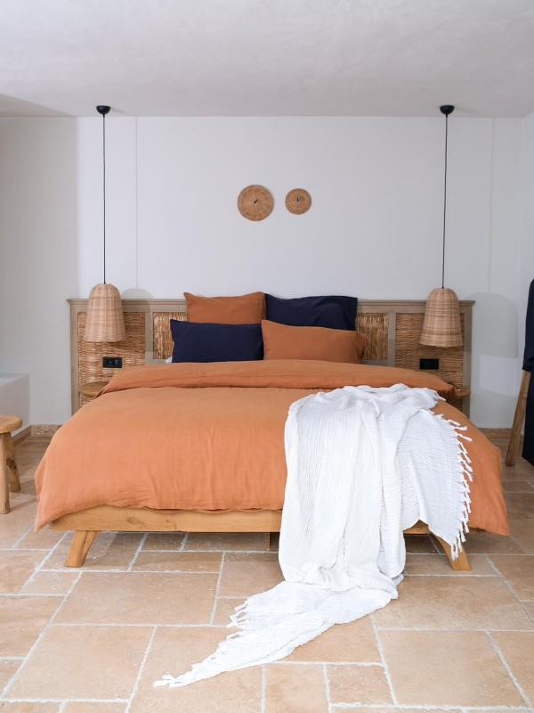 Indian Tan Duvet Cover - Serenity Collection