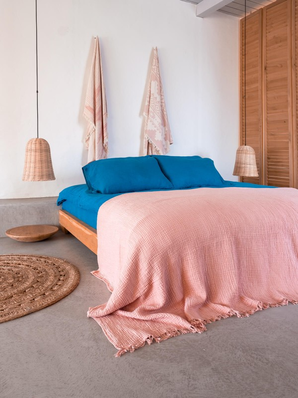 Lyons Blue Duvet Cover - Serenity Collection