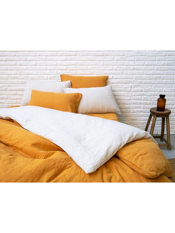 Oak Buff Duvet Cover - Serenity Collection