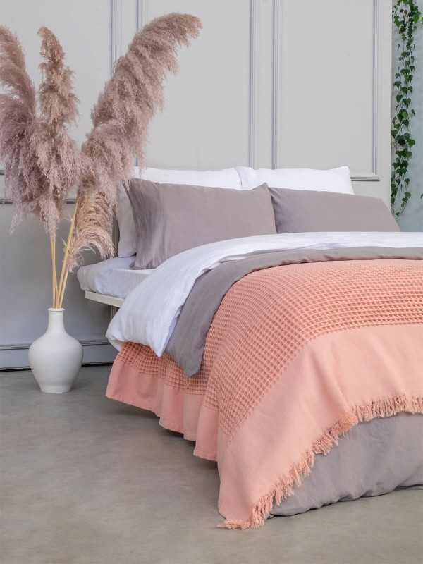 Evening Sand Bed Cover - Waffle Collection