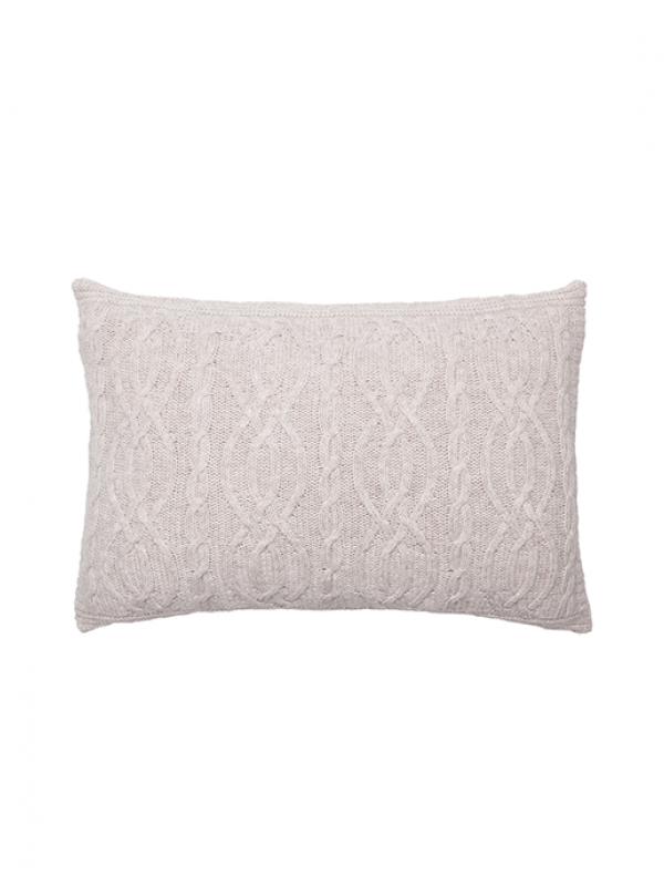 Beige Cushion - Cable Collection
