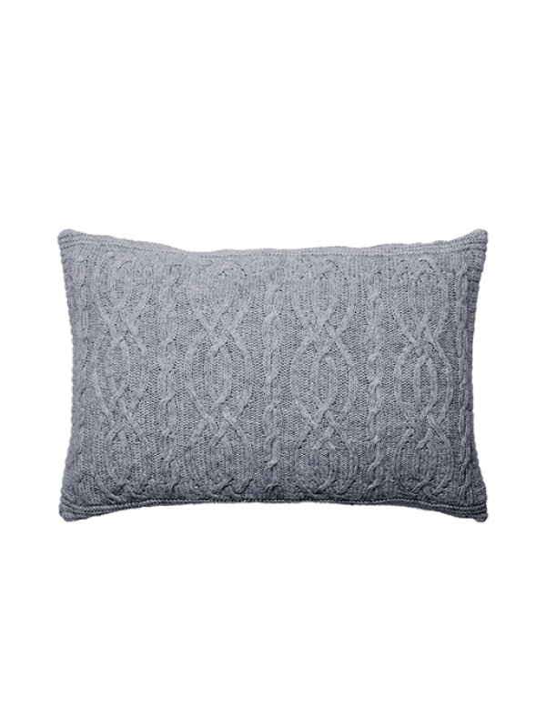 Grey Cushion - Cable Collection