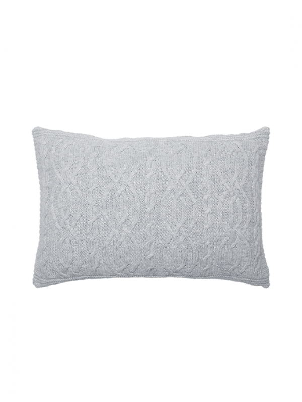 Light Grey Cushion - Cable Collection