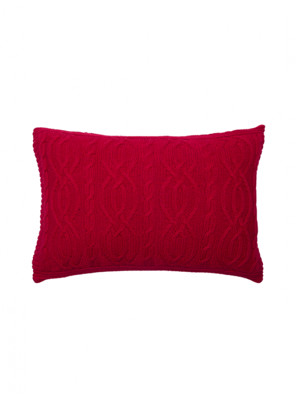 Red Cushion - Cable Collection