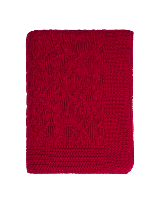 Cable Throw - Red