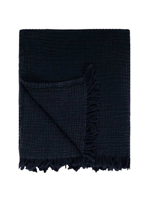 Black Bed Cover - Cocoon Collection