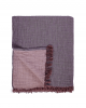Wine/Mousse Bed Cover - Cocoon Collection