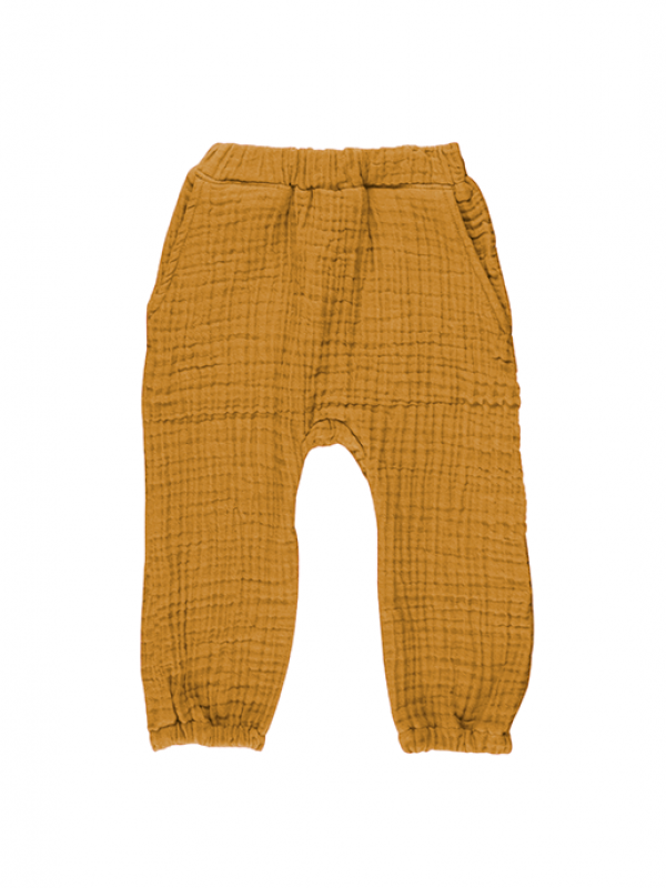Cocoon Pants - Curry