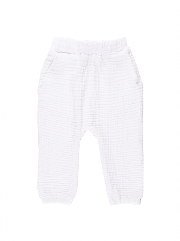 Cocoon Pants - White