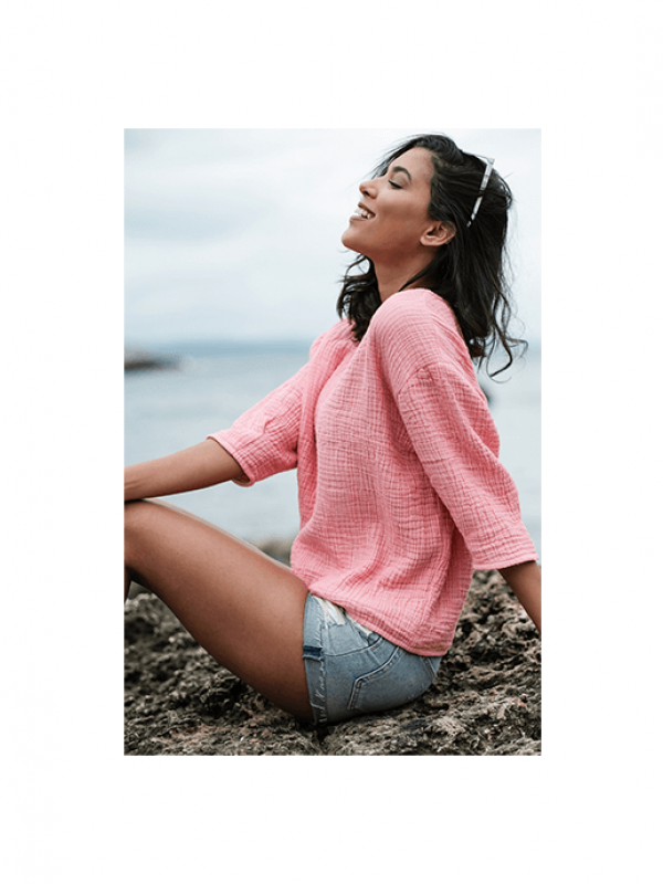 Pink Shirt - Cocoon Collection