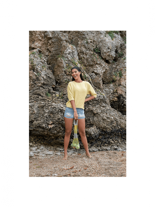 Yellow Shirt - Cocoon Collection