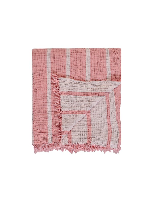 Canyon Throw - Cocoon Stripe Collection