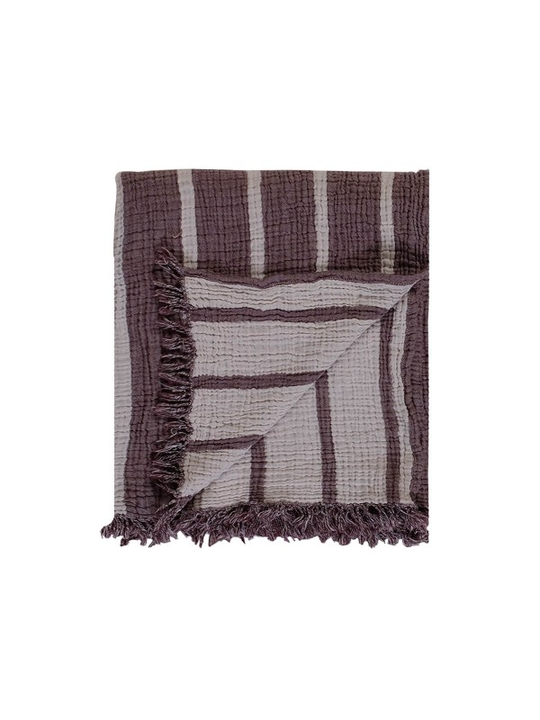 Wine Throw - Cocoon Stripe Collection