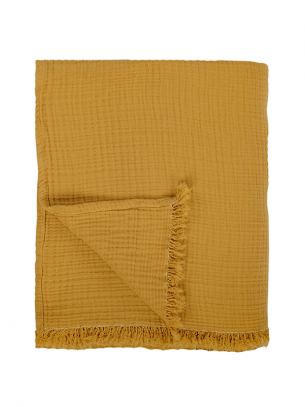 Cocoon Throw - Curry