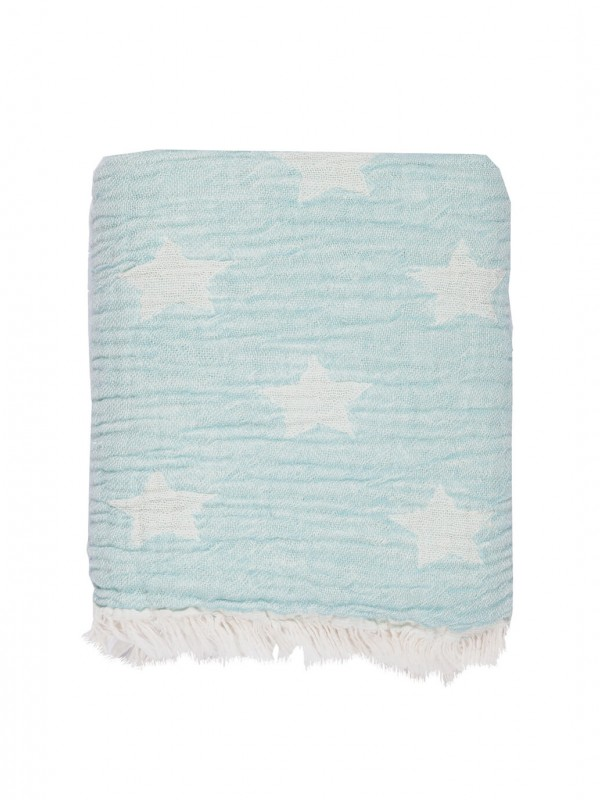 Mint Baby Blanket - Cuddling Star Collection