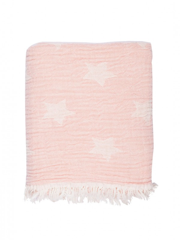 Pink Baby Blanket - Cuddling Star Collection