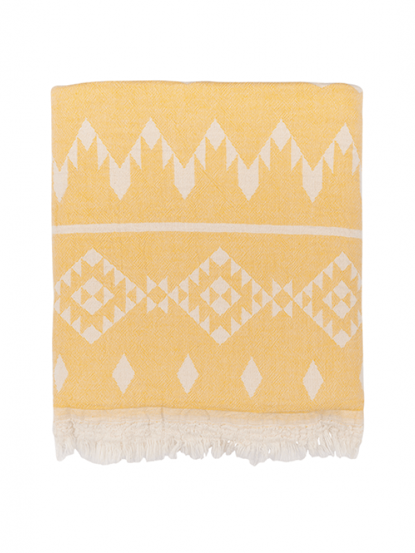 Saffron Throw - Kilim Collection