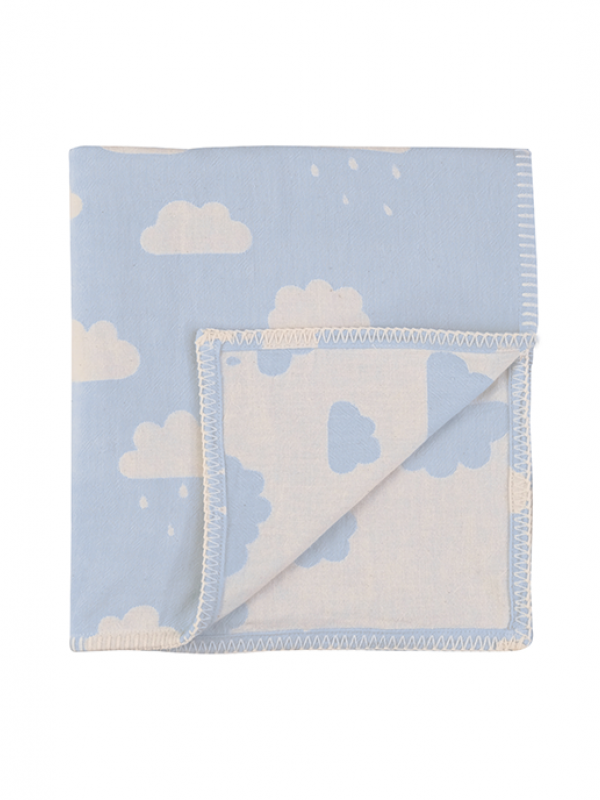 Blue Baby Blanket - New Cloud Collection