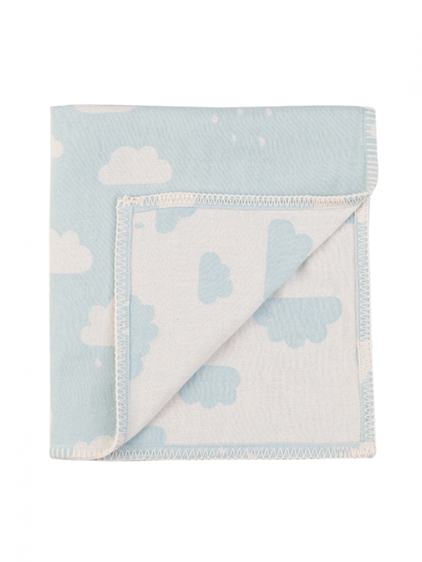 Mint Baby Blanket - New Cloud Collection