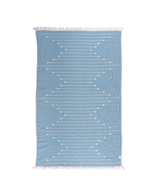 Southwestern Throw - Lyons Blue