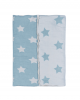 Mint Throw - Star Patchwork Collection