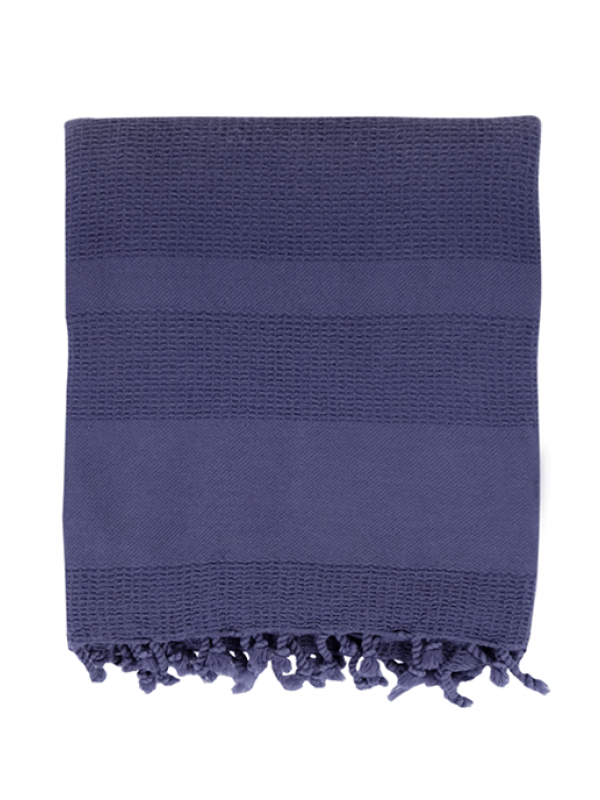 Navy Throw - Stone Collection