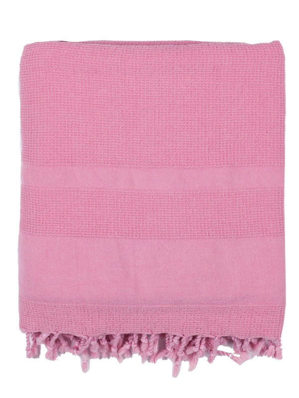 Pink Throw - Stone Collection