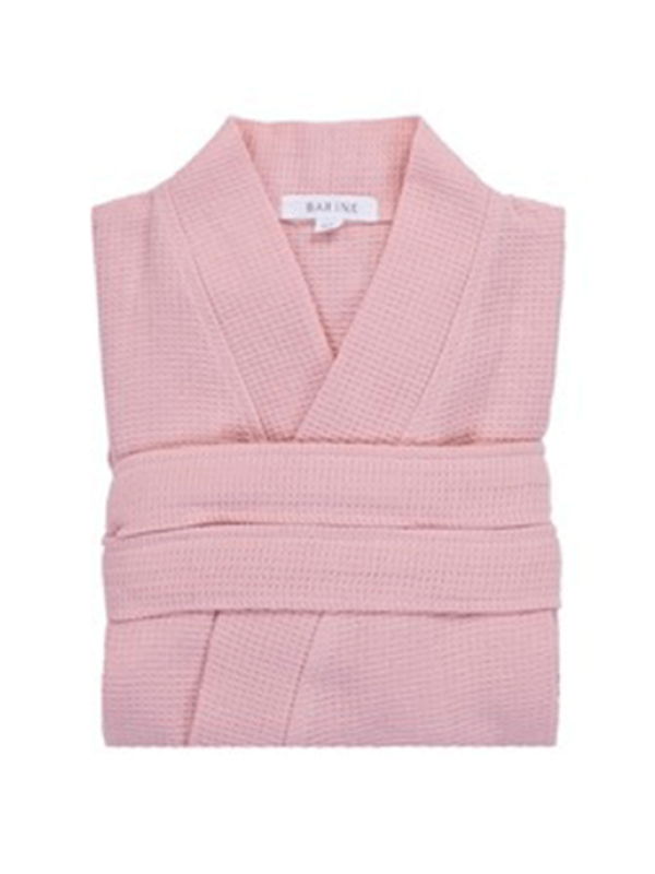 Pale Blush Robe - Waffle Collection