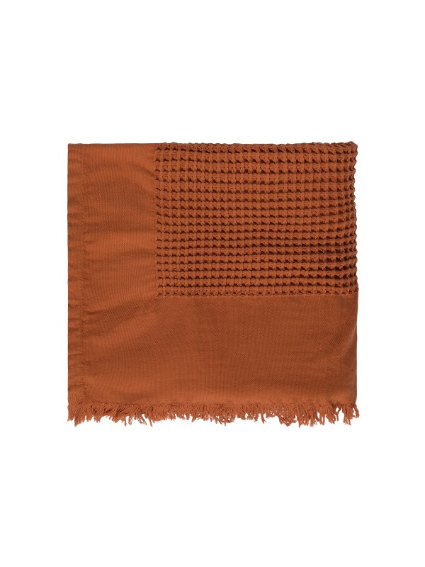 Cinnamon Bed Cover - Waffle Collection