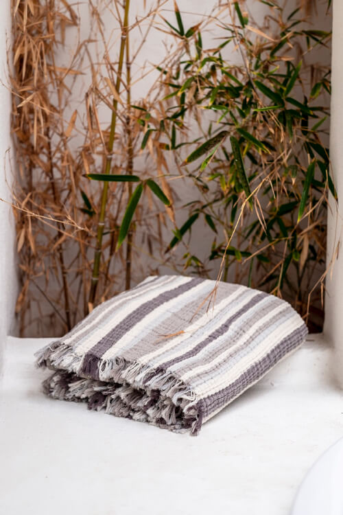 Cocoon Multistripe Throw
