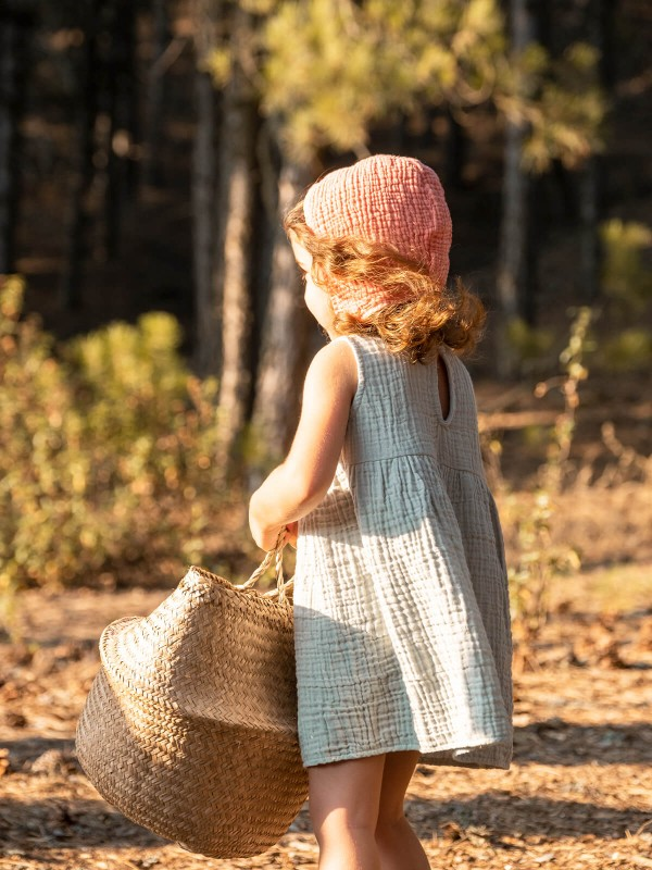 Cocoon Kids Dress - Sage