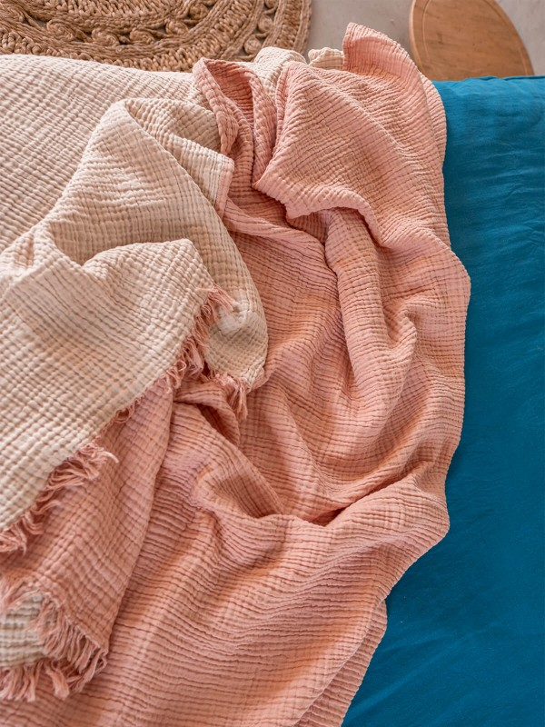 Canyon/Sand Dollar Bed Cover - Cocoon Collection