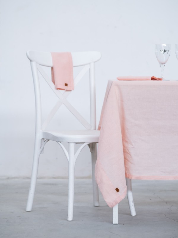 Pink Tablecloth - Linen Collection