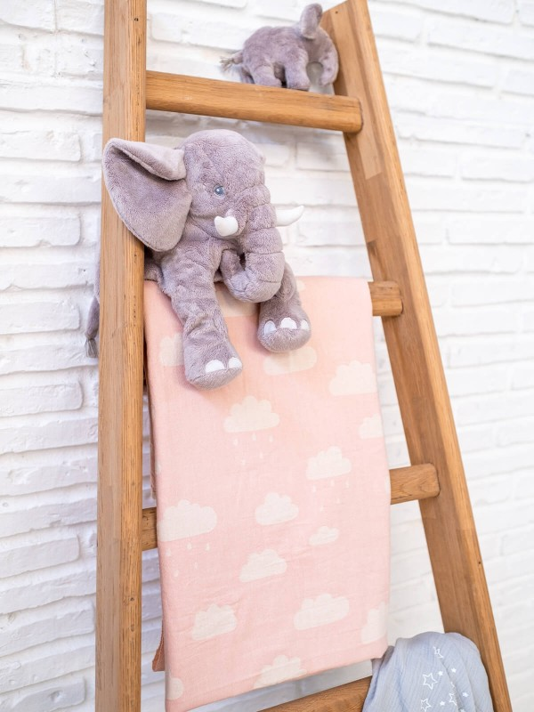 Pink Baby Blanket - New Cloud Collection