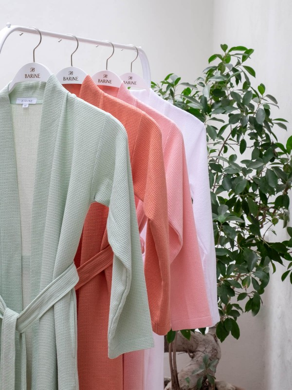 Sage Robe - Waffle Collection